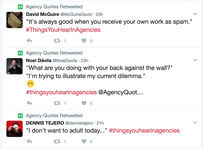 Agency Quotes Twitter